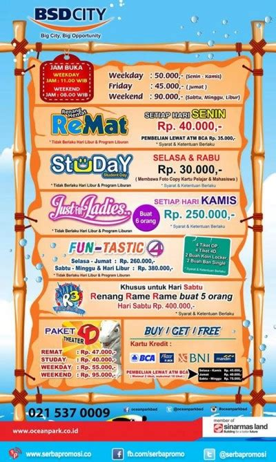 promo ocean park maret 2016 promo ocean park maret 2016 new style for 2016 2017
