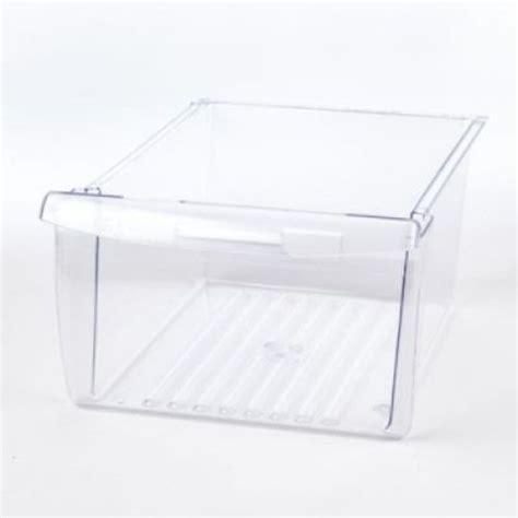 frigidaire replacement crisper drawer 240354705 frigidaire refrigerator upper crisper drawer