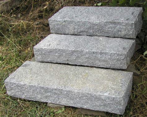 Treppenstufen Garten Setzen by Tschechischer Granit Einmal F 252 R Immer News Firma At