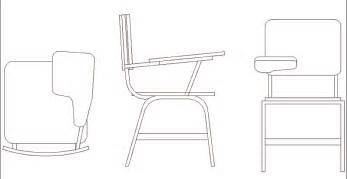 Office Chair Autocad Drawing Desk School Chair In Chairs 2d Furniture And