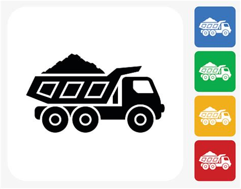 design mine graphics dump truck clip art vector images illustrations istock