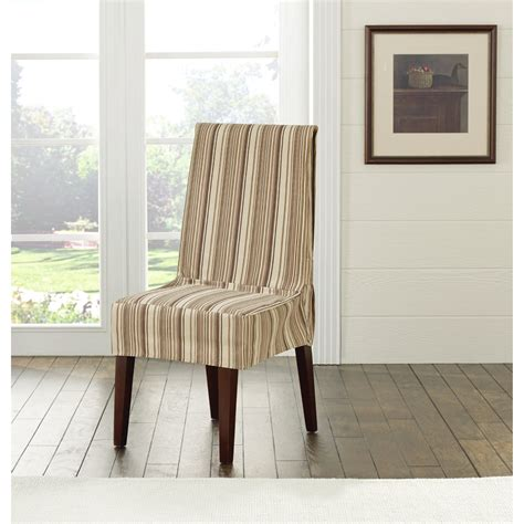 fit harbor stripe dining chair slipcover reviews