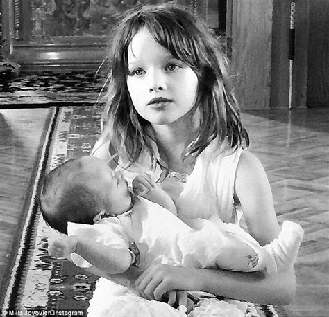 milla jovovich old milla jovovich gushes about her two daughters ever and