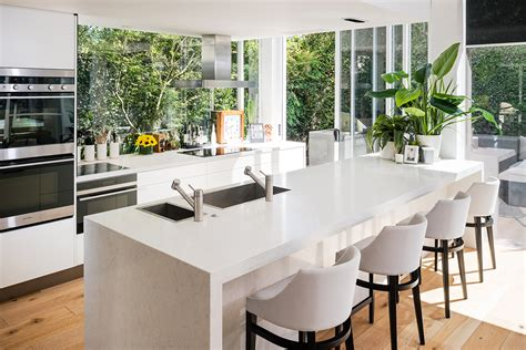 famous kitchens celebrity kitchens with caesarstone part two