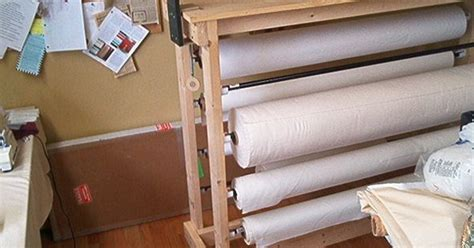Fabric Rack by Fabric Rack On Wheels The Sewing Crafting Studio