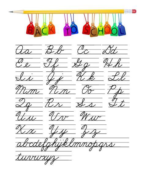 cursive writing paper learn cursive writing she s crafty