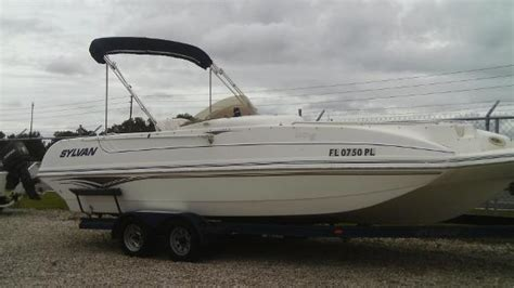 1997 sylvan boats for sale sylvan space deck boats for sale
