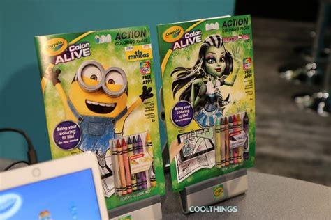 crayola color studio crayola color alive pages minions