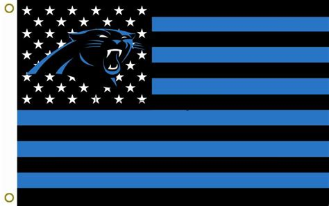 Aliexpress Home Decor by Nfl Carolina Panthers Helmet Flag 3ft X 5ft 100 Polyester