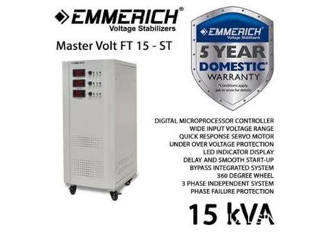 Murah Stabilizer Oki 15 Kva 3 Phase stabilizer avr emmerich master volt ft 15 st 3 phase 15 kva jualsini