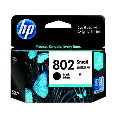 Hp 802 Small Black Original jual hp 802 ink cartridge small black harga kualitas terjamin blibli