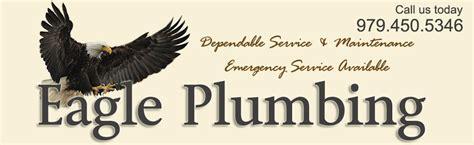 plumber bryan plumber college station eagle plumbing
