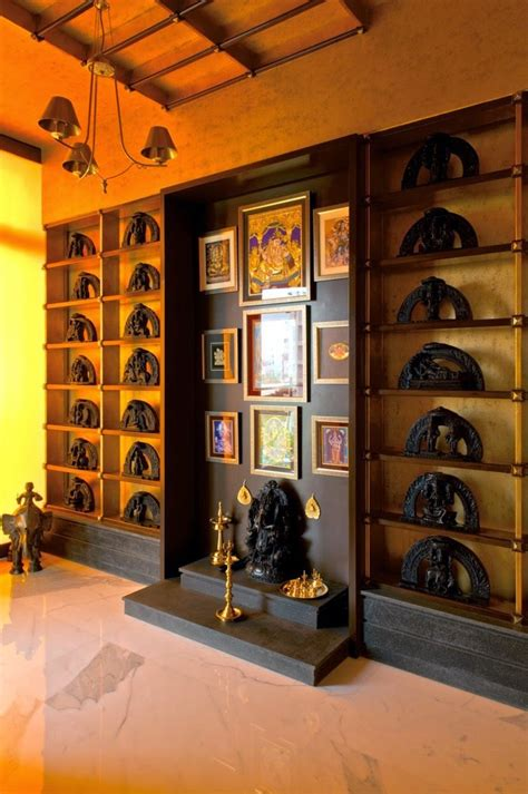 Simple Interiors For Indian Homes by Designing The Divine Space Prayer Pooja Room