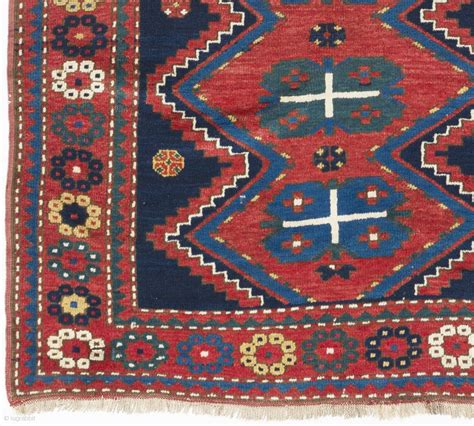 armenian rugs armenian kazak rug 4 6 quot x 7 136x210 cm ca 1910 pile condition no issues