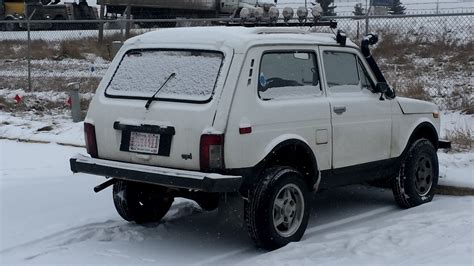 Lada Niva Russia A Russian Lada Niva Road Vehicle Vagabond Expedition