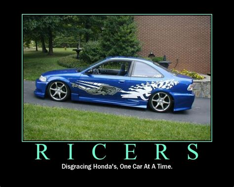 ricer muscle car ricer civic devils racing project