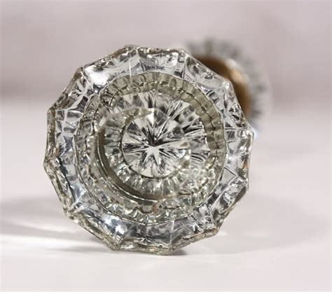 antique glass door knob for the home