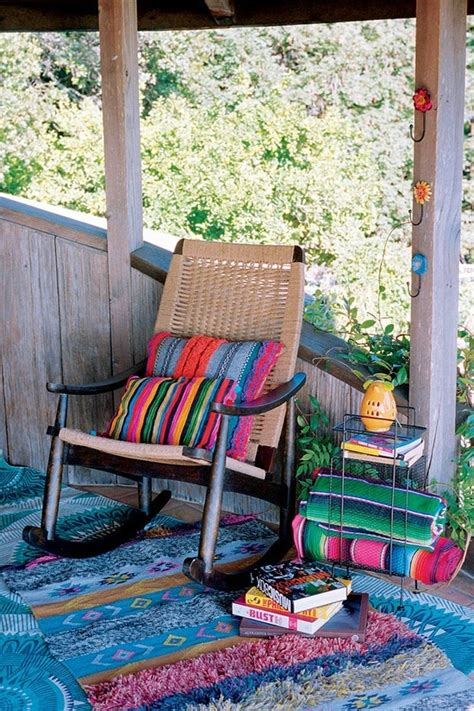 awesome bohemian porch decor ideas digsdigs