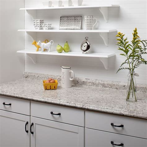 laminate countertops with white cabinets vt dimensions formica 6 ft ouro romano etchings straight
