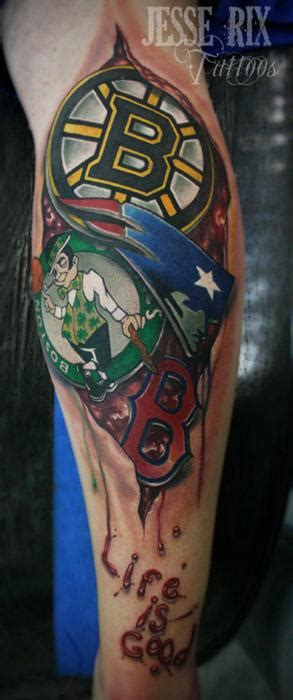 boston celtics tattoos baseball skull white sox shoulder by maximilian