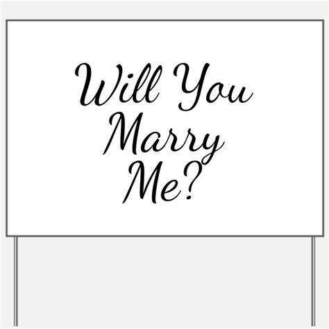 Me Me Me Signed - will you marry me yard signs custom yard lawn signs
