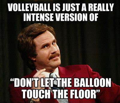 Funny Volleyball Memes - you ever play volleyball