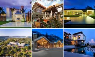 the eight best homes in the world revealed daily mail
