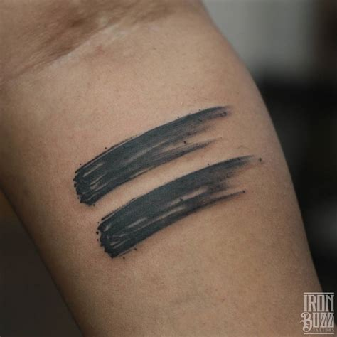 brush stroke tattoo 34 captivating brush stroke tattoos amazing ideas