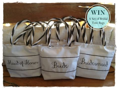 Wedding Sweepstakes Giveaways - giveaway alert win a set of bridal tote bags wedding philippines wedding philippines