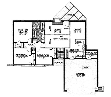 houseplans and more denmark ranch home plan 020d 0071 house plans and more