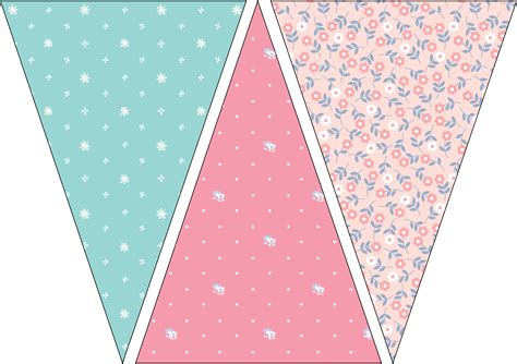 Printable Bunting Flags | bunting printable pinterest buntings