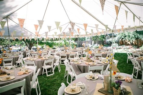 simple backyard wedding ideas on a budget c