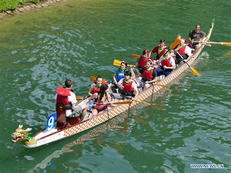 dragon boat festival 2018 korea dragon boat race held on ljubljanica river in slovenia vtibet