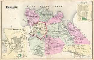 Map Of Queens New York by File 1873 Beers Map Of Flushing And College Point Queens