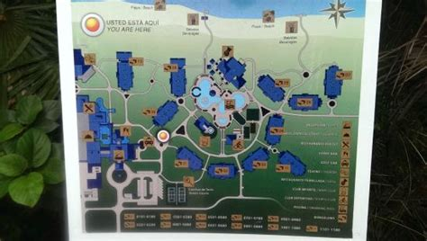 Website Of The Week Starfish by Map Of Hotel Picture Of Starfish Cayo Santa Cayo