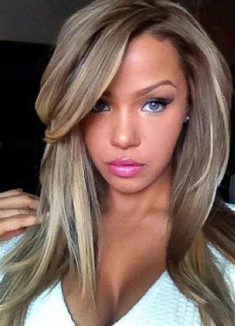 Brown Hairstyles With Highlights by Hair With Brown Highlights And Lowlights Hairstyles