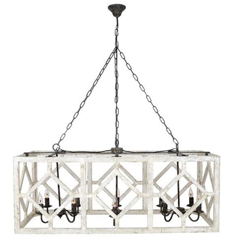 kitchen table chandelier geometric rectangle chandelier old white modern