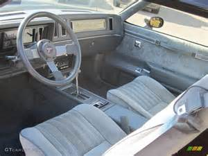 1987 Buick Regal Interior Grey Interior 1987 Buick Regal T Type Photo 39508332