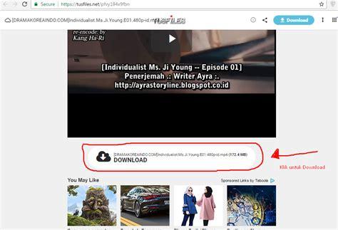 link untuk mendownload film drama korea cara download pake uppit