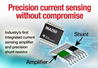 power current sense resistor current sense lifier integrates shunt resistor ina250