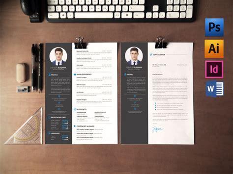 Cover Letter Modern Cv 28 Minimal Creative Resume Templates Psd Word Ai Free Premium Templateflip