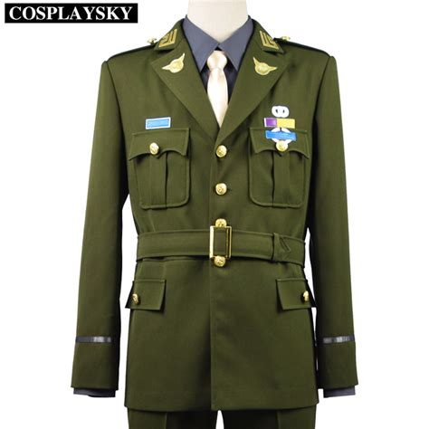 Jual Costume captain america steve rogers wwii army ssr costume in tv costumes from