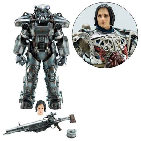 figure fallout 4 fallout 4 t 60 power armor 1 6 scale figure
