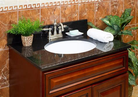 bathroom vanity with black granite top lesscare gt bathroom gt vanity tops gt granite tops gt absolute black gt lcgt37224ab 37 quot x