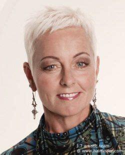 platenumm hair for older women platinum blonde pixie cut for older women short