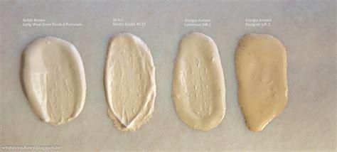 Foundation Make No 2 What Do You Fancy Review Giorgio Armani Luminous Silk