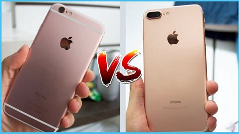 iphone 6s vs iphone 7