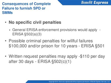 Civil Section 502 A Of Erisa by The In S And Out S Of Erisa