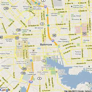 usa map baltimore md baltimore on united states map