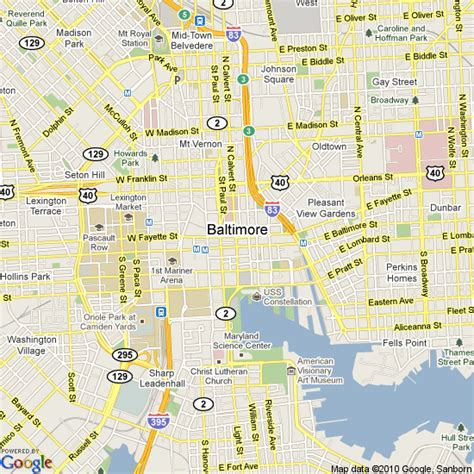 map of the united states baltimore map of baltimore united states hotels accommodation